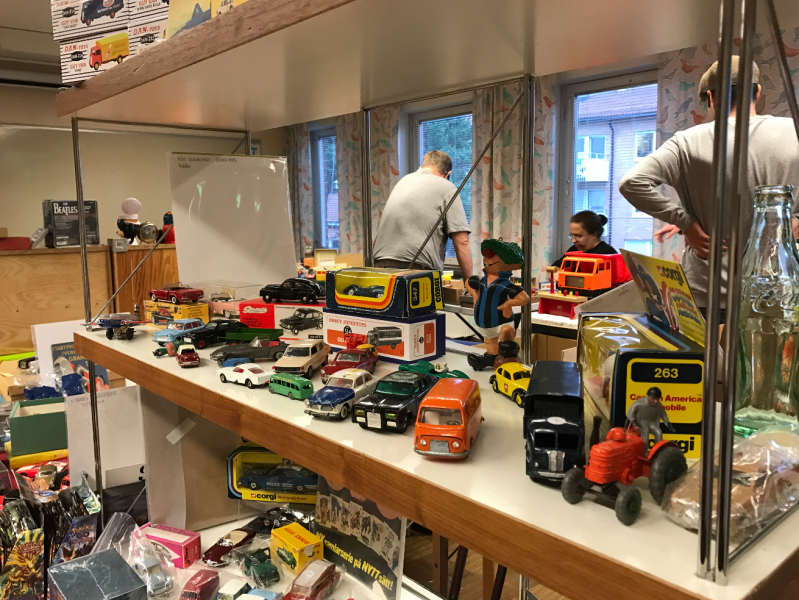 Leksaksmarknad i Stockholm