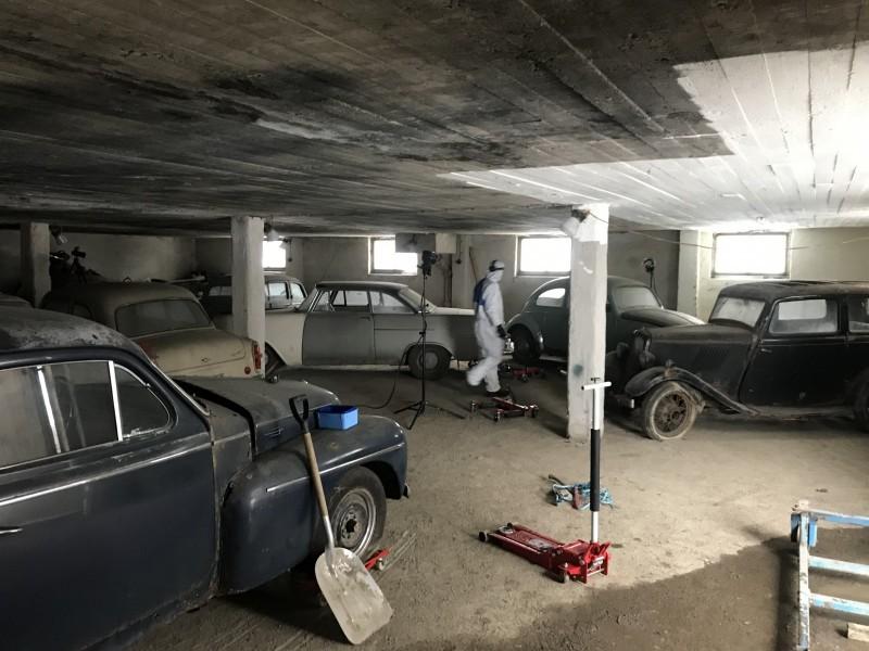 Den gömda bilsamlingen: Ett skräckexempel