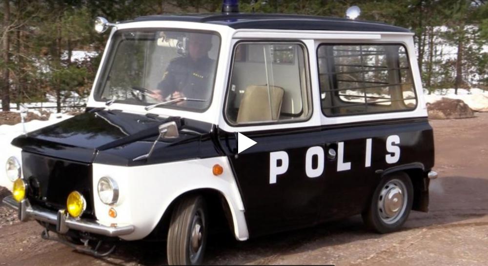 Ny sorts polisbil i Kalmar!