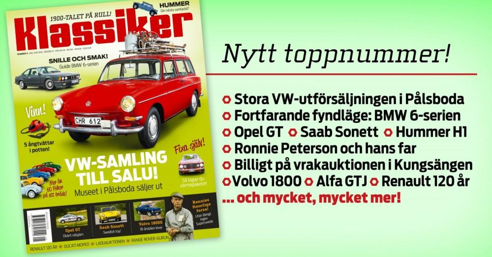 Sveriges största VW-samling säljs ut!