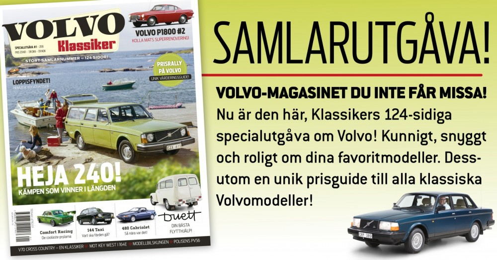 Köp VolvoKlassiker 2018 portofritt!