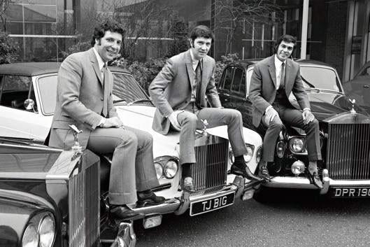 Trio med Rolls-Royce