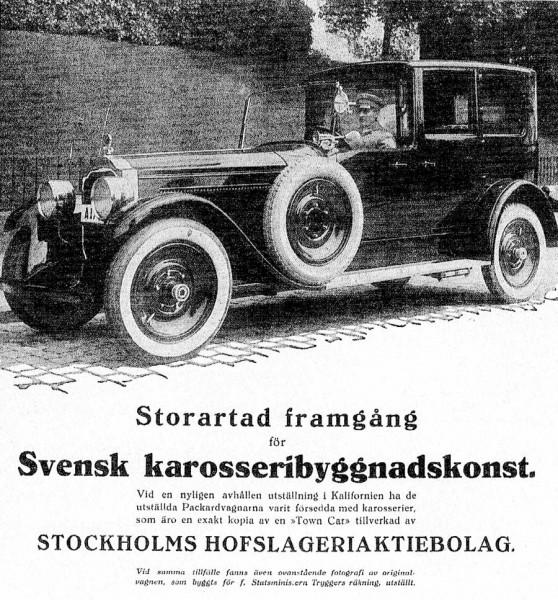 Hovslagarens Packard