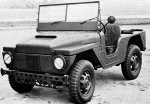 Quiz:  Jeepliknande fordon