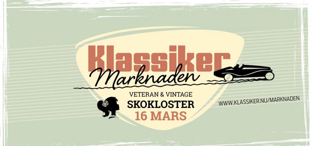 KlassikerMarknaden Skokloster 16 mars
