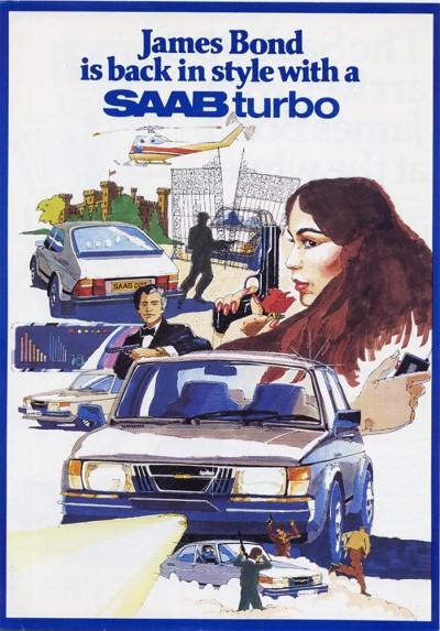 När James Bond körde Saab 900 Turbo