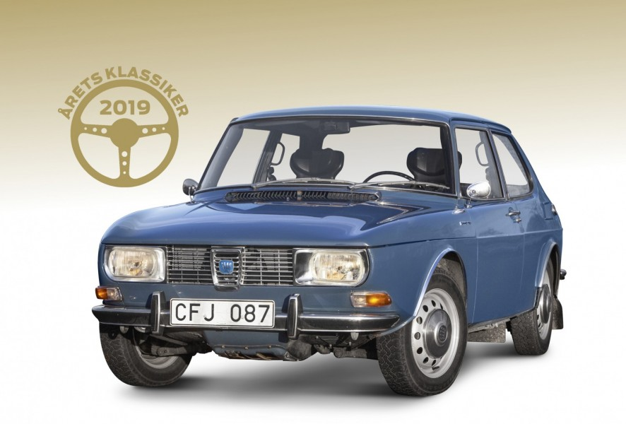 "Saab 99 ""T16"" är Årets Klassiker!"