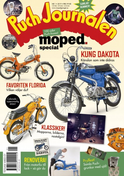 Nya Moped: Puch special!
