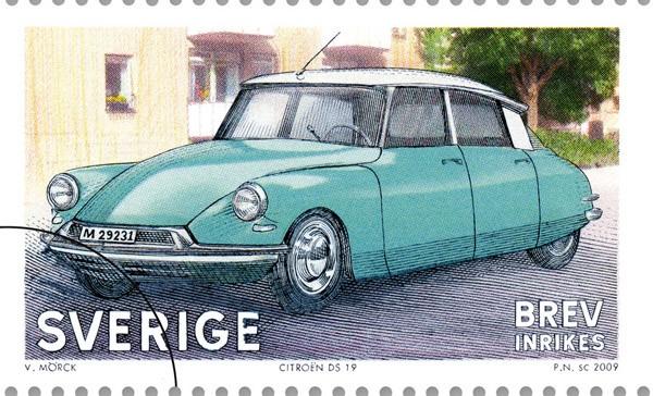 Quiz: Bilar på frimärken