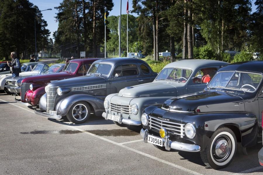 Tiger, Taunus-taxi och Quattro i Bollnäs