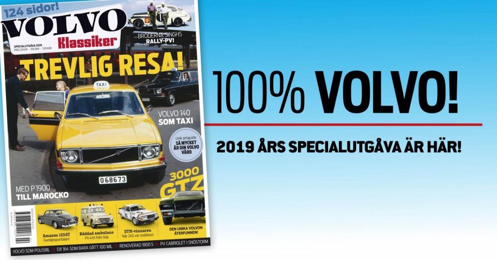 VolvoKlassiker 2019 – Trevlig resa!