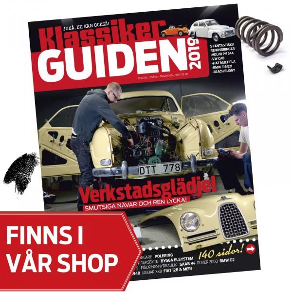 Klassikerguiden 2019: Garageglädje och svordomar!