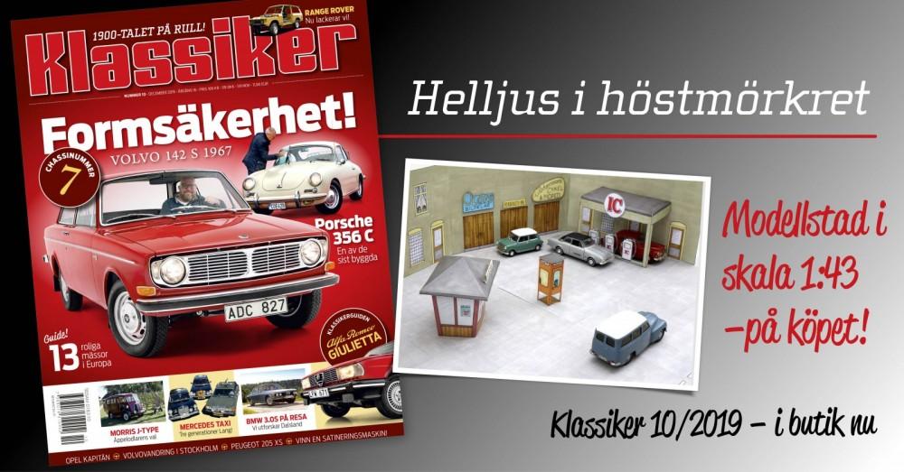 Volvo 142, Porsche 356 och modellstad på köpet!