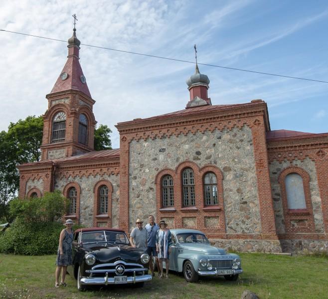 Med veteranbil genom Baltikum