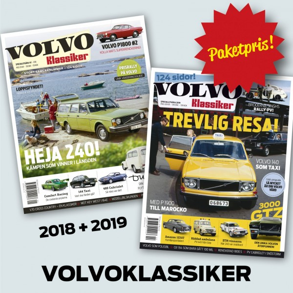 Vad är bättre än en Volvo? Jo, två Volvo!