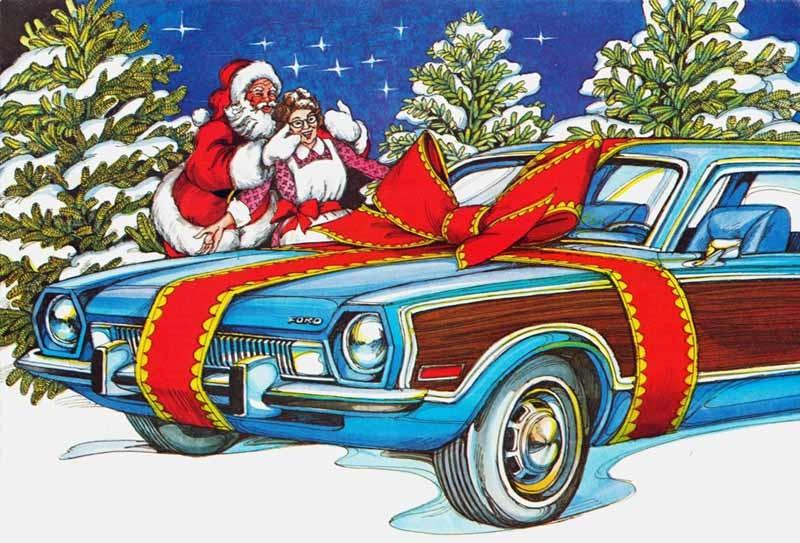 Julens bilar