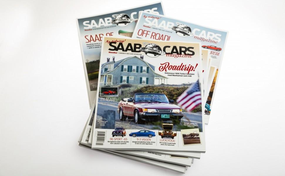 Saab Cars Magazine – beställ fraktfritt!