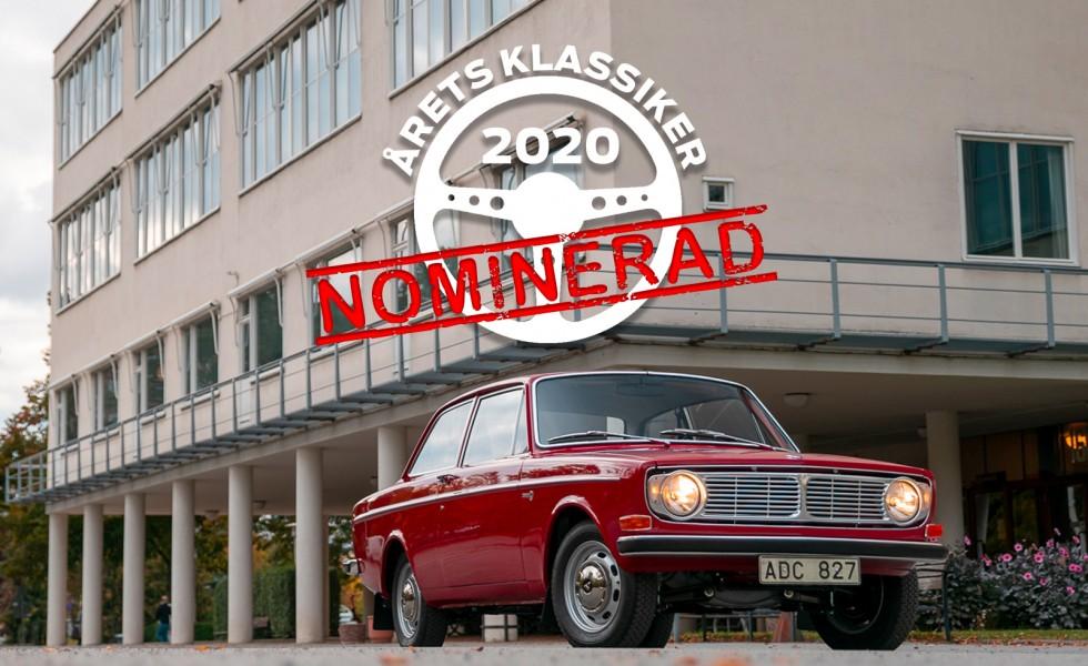 Volvo 142S – svensk funktionalism som Årets Klassiker?