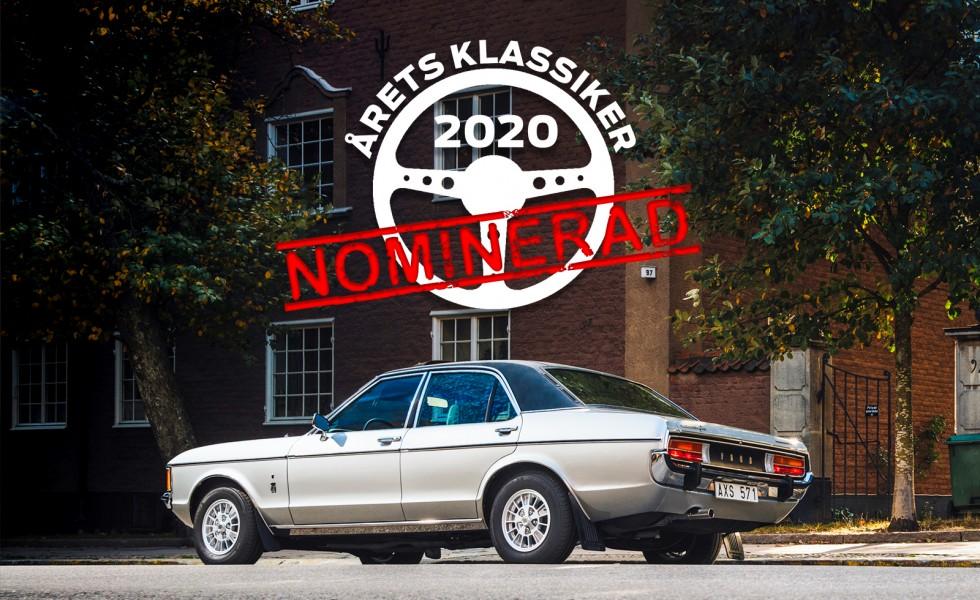 Ford Granada Ghia – krävs det vinyltak för att bli Årets Klassiker?