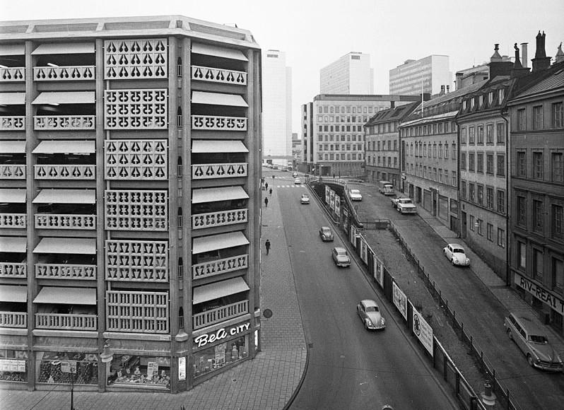 Stockholms snyggaste P-hus?