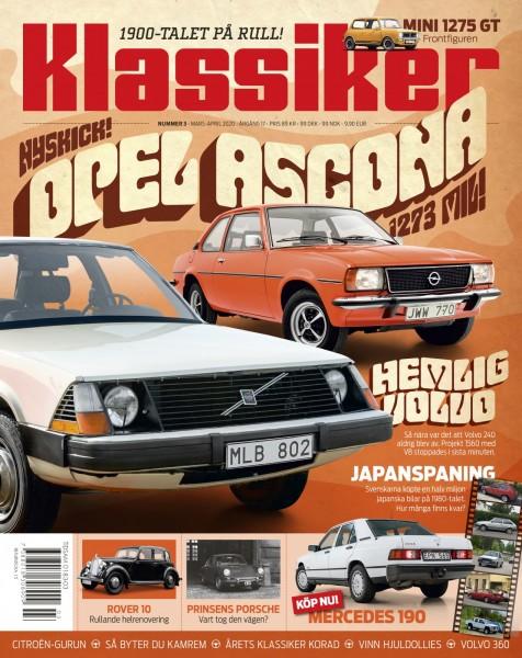 Ascona, Volvo med V8 och bilforskning!