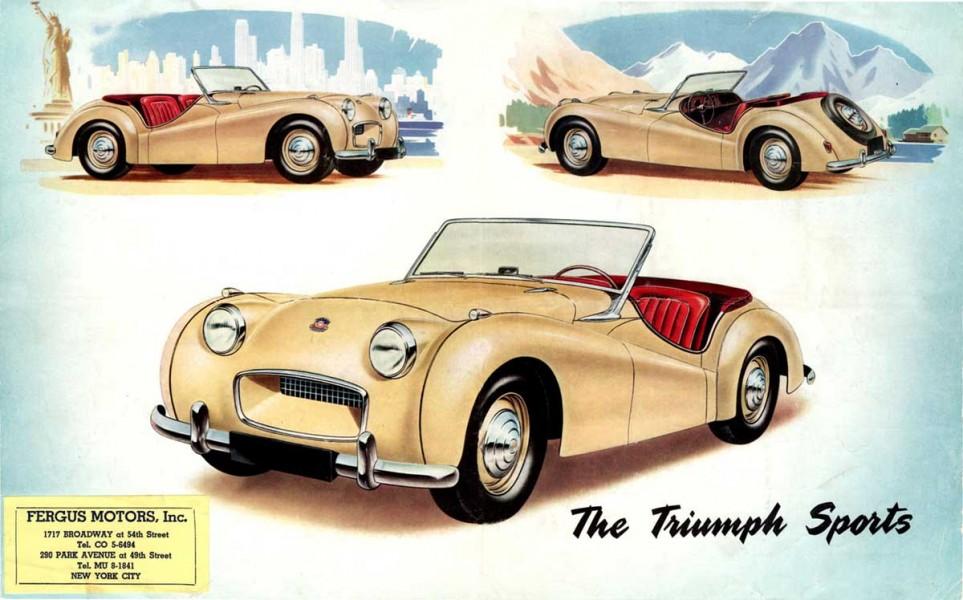 Triumphs försvunna föregångare