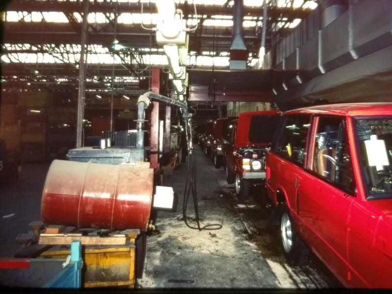 En dag på Range Rover-fabriken
