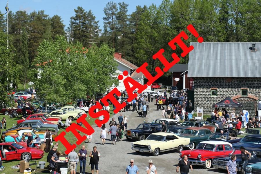 Motorträffen i Olofsfors ställs in