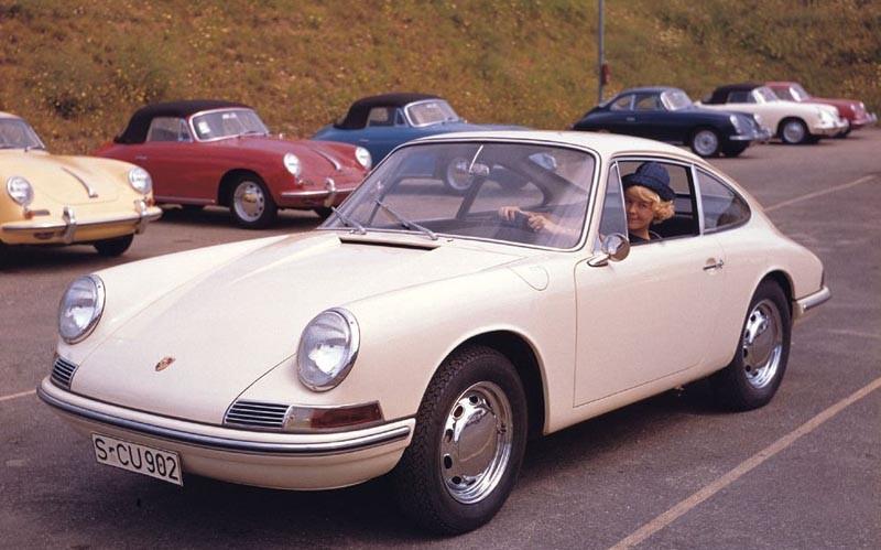 Porsche i nummerordning
