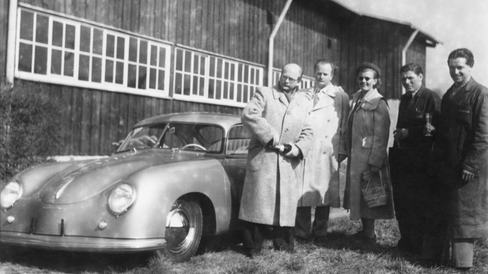 Flärdfulla fabriksleveranser hos Porsche