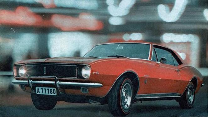 Chevrolet i Sverige – reklamen