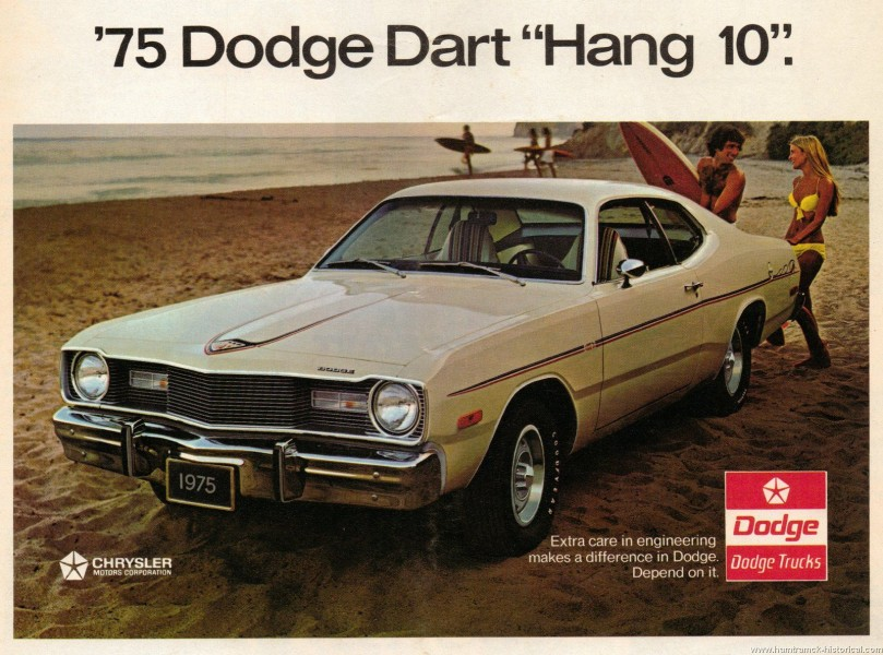 Surfarbilen - Dodge Dart Hang 10