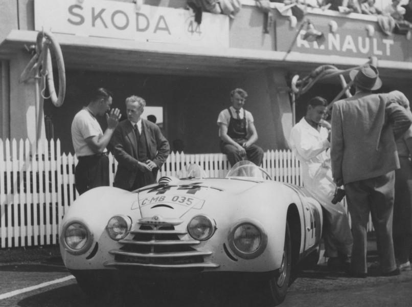 Skoda på Le Mans 1950