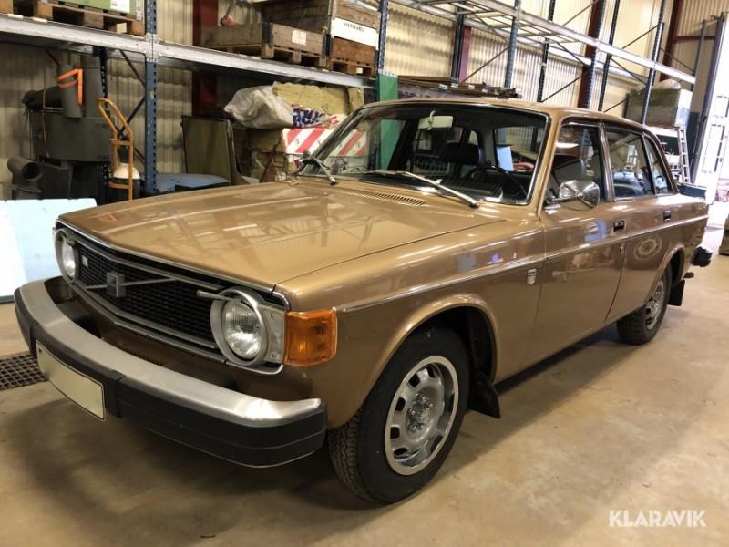 Guldläge? Osliten Volvo 144 GL på auktion!