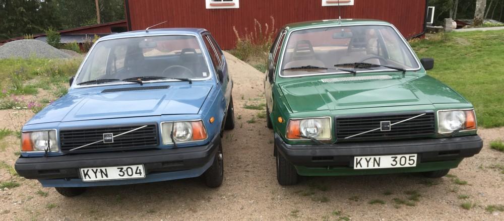 Volvo 343 i nummerordning