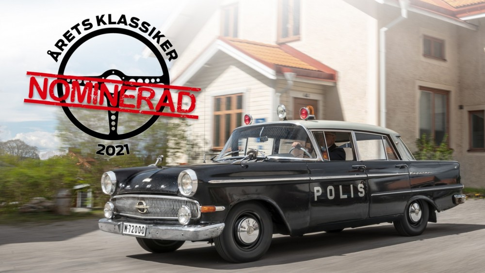 #2 Opel Kapitän Polisbil – blir den Årets Klassiker?