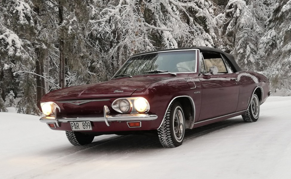 Svansmotor och turbo på snö!