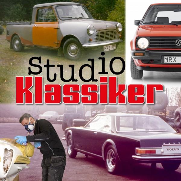 Golf Mk2, sprayburkar & hemlig Volvocoupé