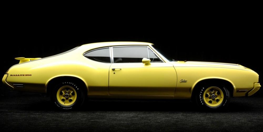 Oldsmobiles gulaste modell