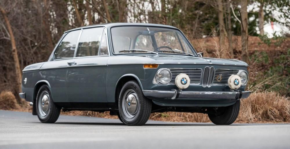 Svensk BMW på auktion i USA