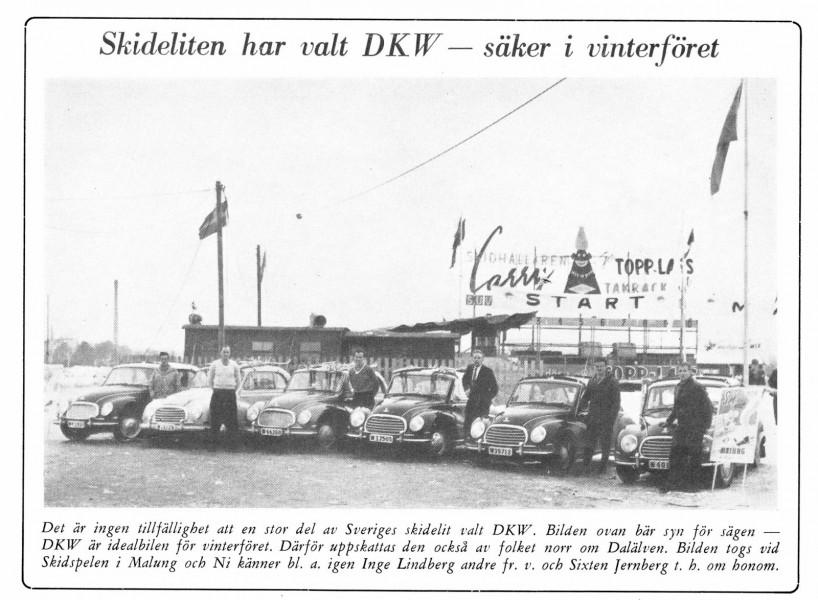 Med DKW i gott sällskap