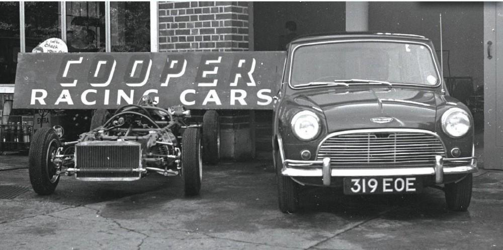 Mini Cooper 60 år