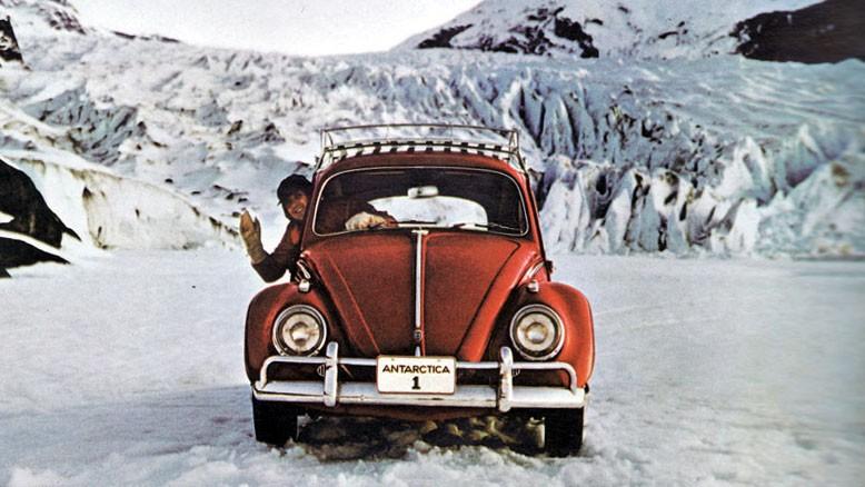 Världens ensammaste bil.