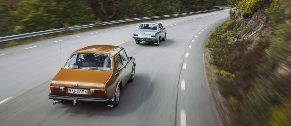 Saab vs Volvo – toppstrid 1973