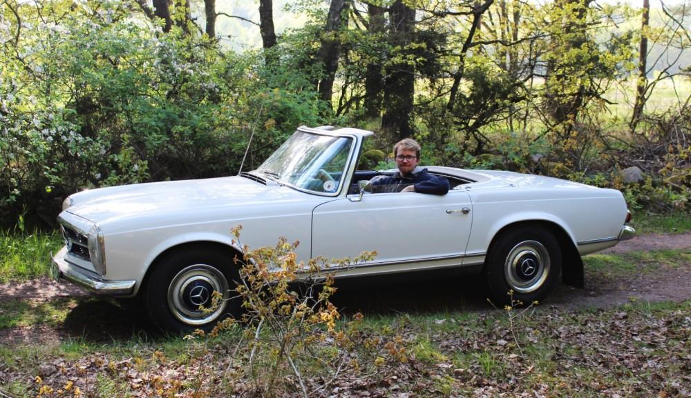 En Pagoda-Mercedes som 18-årsbil!