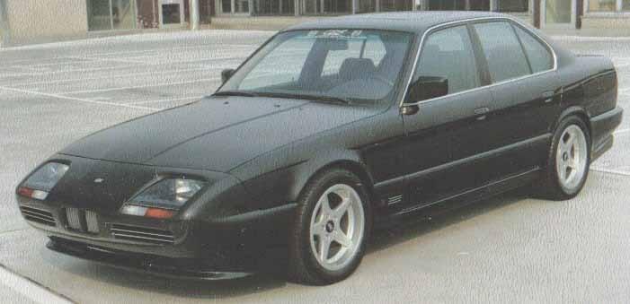 BMW med långnäsa