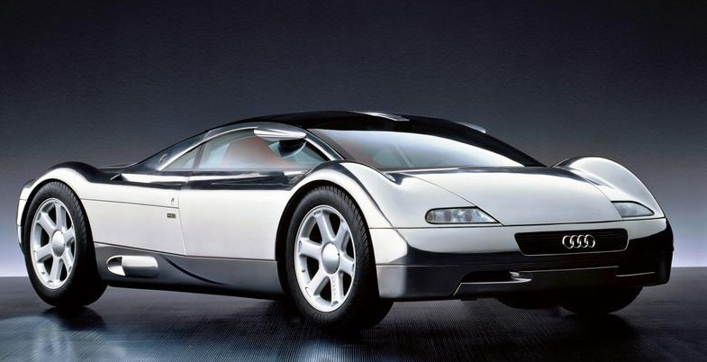 Audis moderna silverpil - Avus