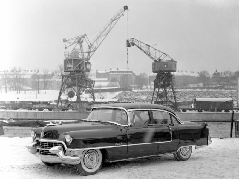 En kulen vinterdag på kajen 1955