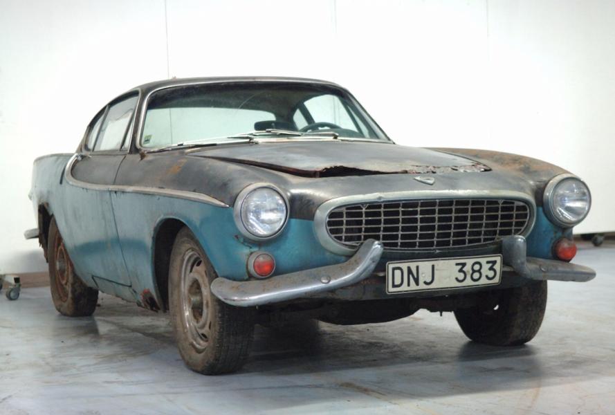 Volvo P1800 – 1961. Orenoverad före detta pressbil. 125 000 kronor!