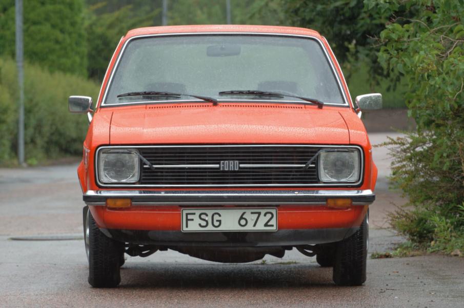 Ford Escort 1300L – 1975. 3 000 mil och samma ägarfamilj sedan ny! 126 000 kronor!